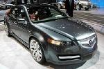 На американский рынок выйдет обновленная Acura RL от Honda